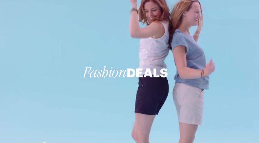 Fashiondeal tvcommercials Charles Vögele live!
