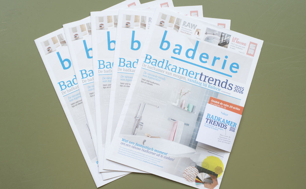 Inspirerende Trendkrant voor Baderie