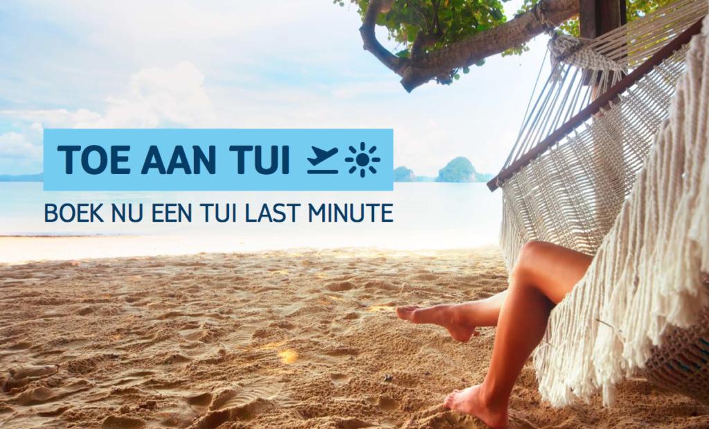 Toe aan TUI: nieuwe sales campagne van TUI