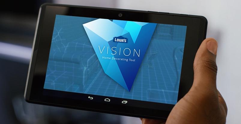Innovatieve retailer Lowe's toont nieuwe 3D visualisatie app