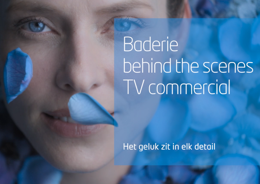 De making of van de nieuwe Baderie TV commercial